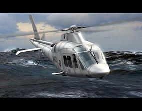 Agusta Westland 109 Grand 3D animated