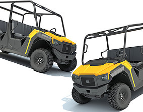 Utility Vehicle Collection 3D