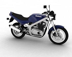 3D model Suzuki GS500 1994