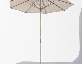 Langholmen Ikea Outdoor Umbrella Low Poly VR AR 3D asset 2