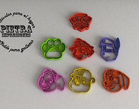 MOLDE CORTANTE PARA GALLETAS FONDANT 3D printable model 2