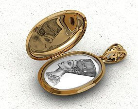 Pendant locket for photos 3D printable model