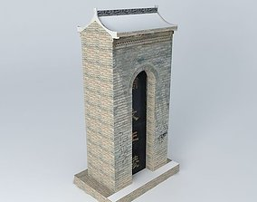 Entrance to the tomb 3D model