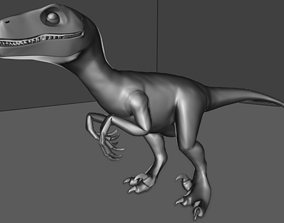 Raptor High Quality 3D printable model