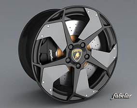 Lamborghini Reventon rims 3D