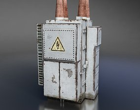 Power Transformer 3D asset