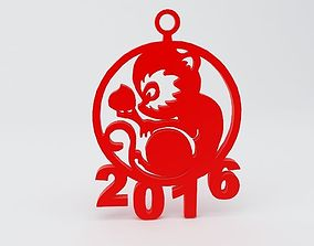 gadgets Year of the Monkey 3D printable model