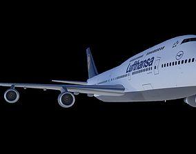 3D model Boeing 747-400 boeing747