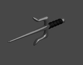 Sai - ninja weapon 3D asset