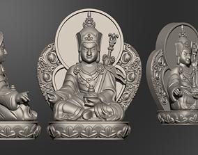 Buddha Guru Rinpoche Padmasanhava 3D print model