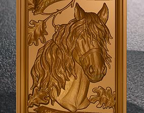 3D printable model Horse in the frame