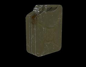 Jerrican 3D asset
