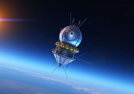 "Soviet Satellite ""VOSTOK - 1"" Special Project"