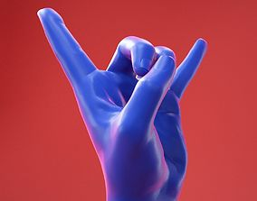 3D Male Hand 26