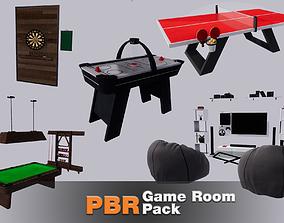 3D asset Game Room Pack