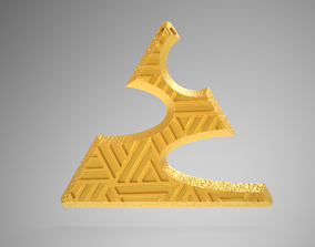 Triangle Necklace 3D printable model