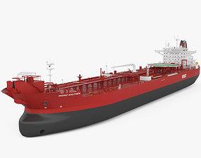 Shuttle Tanker Ingrid Knutsen 3D model
