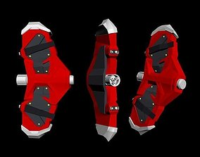 Webshooter spiderman ps4 3D printable model