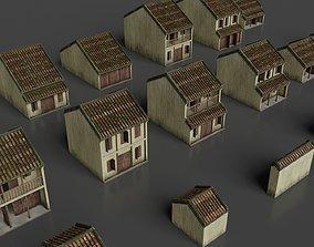 Hoi An Ancient House Pack 3D model VR / AR ready