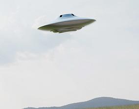 Flying Saucer 3D print model