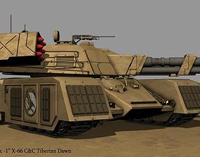 Mammoth tank X-66 GDI MBT 3D