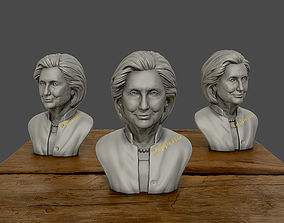 Hillary Clinton 3D printable model