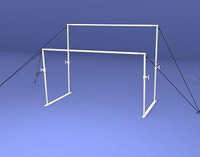 3D model Gymnastics Uneven Bars