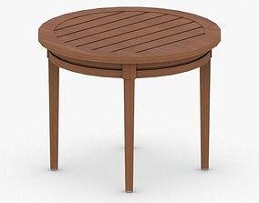 3D asset 0938 - Outdoor Table