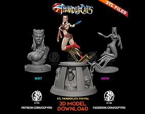 Thundercats Pumyra STL for 3D printing Fanart Term 27 3