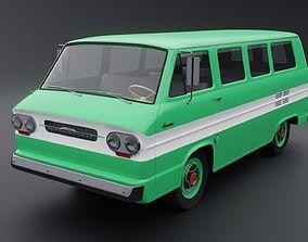 3D Chevrolet Corvair Greenbrier