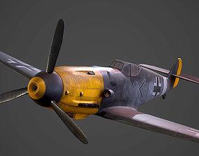 3D model Messerschmitt BF-109