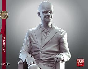 president Dwight D Eisenhower Sit 3D print model