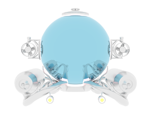 sea conceptart submarine 3D model