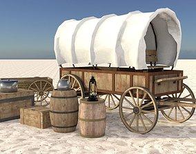 WagonPack 3D asset