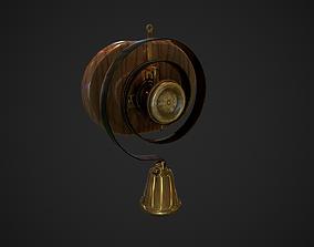 3D asset Servants bell