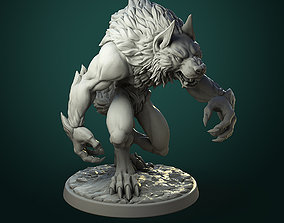 3D printable model Common Werewolf 2 variants