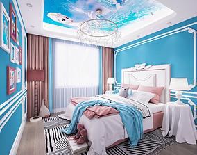 3D European children room