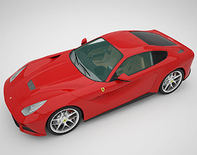supercar Ferrari F12 Berlinetta 3D model