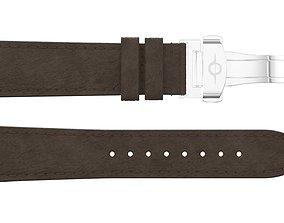 3D model Strap watch Leather PBR