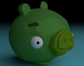 Bad Piggies - 3D Printable Piggy Bank