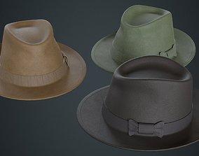 Fedora Hat 2A 3D model