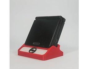 3D printable model Pokemon Game Boy Advanced SP Display