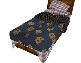 Bedcloth 120 3D asset