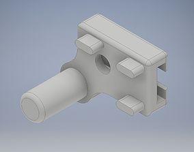 3D print model Shower Door Hinge