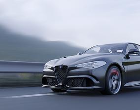 3D model 2019 Alfa Romeo Giulia Sport Charlotte NC