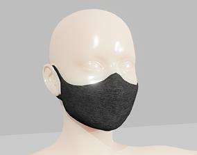 3D model Face Mask Covid