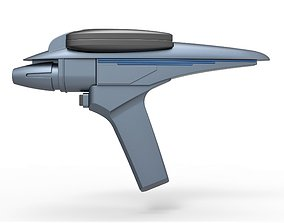 3D model Phaser Type II from Star Trek III The Search 2