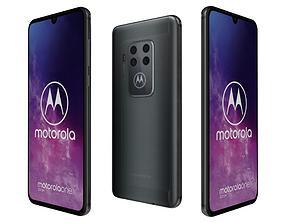 3D model Motorola One Zoom Electric Gray