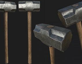 3D model Old Sledgehammer PBR
