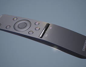3D model Samsung Smart TV Remote